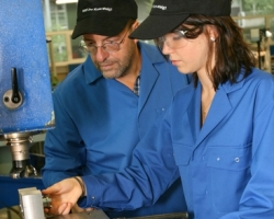 female-student-manufacturing