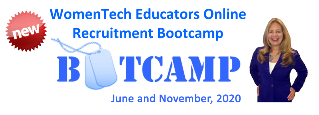 WomenTech Educators Online Recruitment Bootcamp